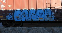 Enron (Benching In The West) Tags: colors bench photography graffiti letters trains tags graff nr freight enron tagger freights rollingstock fr8 benching