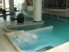 La piscina dello SPA