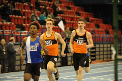 349 , Josh Eades & Benjamin Sturgess. U20 Men's 400m.  MCAA Championships, Day 2. (Stanthefan) Tags: england field sport horizontal athletics jump birmingham track action run sprint twopeople westmidlands oneperson hurdle gbr threepeople