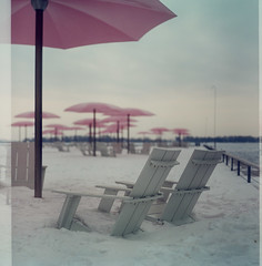 waiting for summer (leslie*thomson) Tags: toronto pentaconsix portra800 sugarbeach