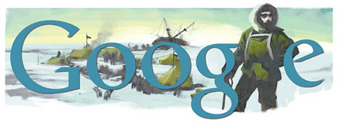 Ernest Shackleton Google Logo