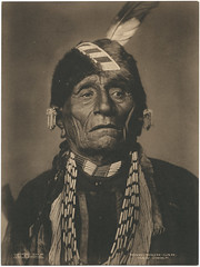 Wah-Shun-Gah. Kaw Chief. (SMU Central University Libraries) Tags: indians chiefs americanindians kaw uswest monomonday