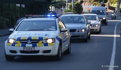Australian Prime Minister Julia Gillard visits NZ Parliament (111 Emergency) Tags: new prime julia police australia parliament visit zealand nz wellington minister gillard