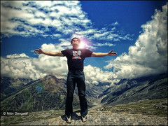 World Keeps Turning (whoisnd) Tags: sky mountains clouds manali rohtangpass pp nitin rohtang postprocessing pns nitindangwal