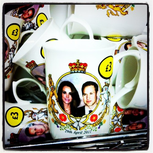 Royal Wedding fever begins. Anyone want me to grab one? Bone china!! ;)