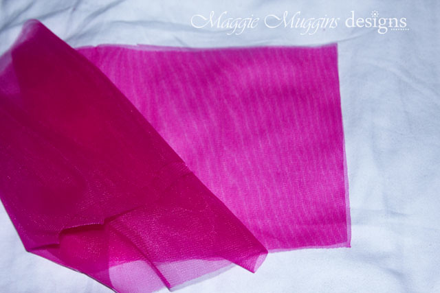 Chiffon Layer Cut Out