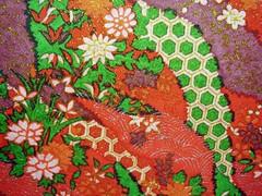 DSC02019 - Japanese hand-made paper (tengds) Tags: flowers red clouds waves japanesepaper washi handmadepaper chiyogami yuzenwashi tengds