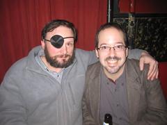 Laird Barron & Nicholas Kaufmann