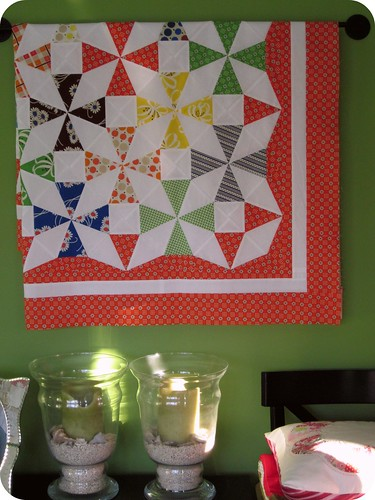 Saltwater Taffy Quilt - top