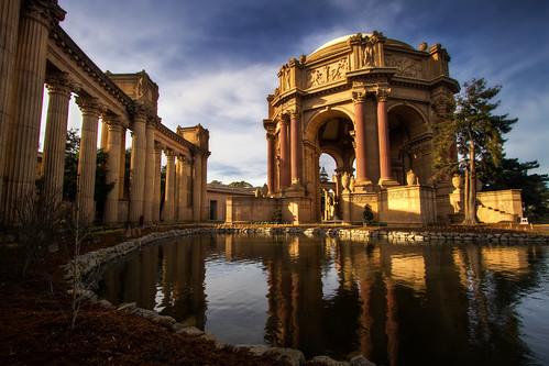 [フリー画像] 建築・建造物, 宮殿・城, アメリカ合衆国, カリフォルニア州, 201102200100