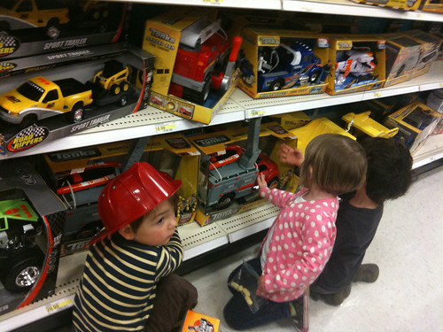 target toy aisle