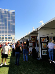 Artists' Booths at 2010 Artwalk on the Bay