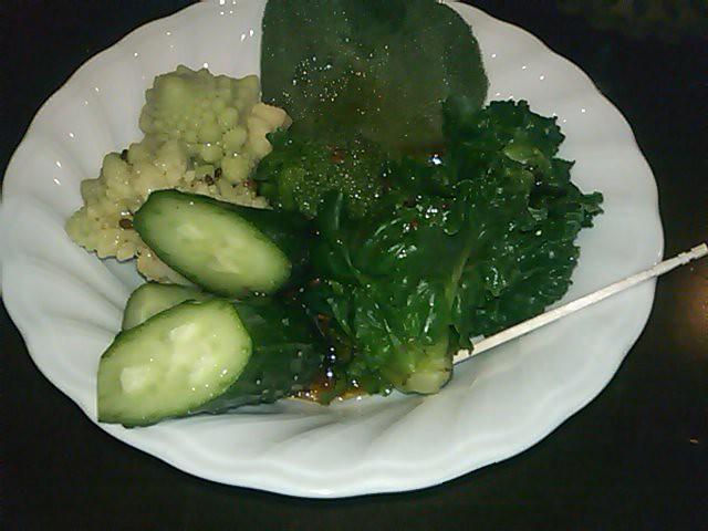 2011年2月10日 夕食(栃木の野菜)