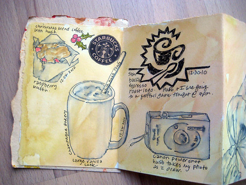 coffee shop journal