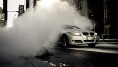street racer (tomms) Tags: street leica car race smoke fast steam bmw dlux5 tgamphotodesktransportation