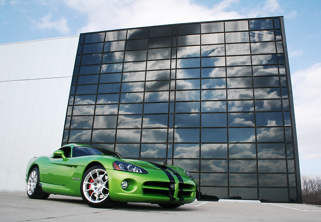 building green clouds amazing midwest baker photoshoot snake picture motors exotic danny dodge viper 2008 coupe snakeskin srt10