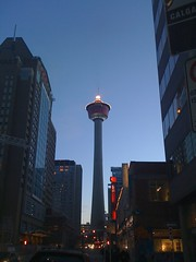 Calgary Tower Torch