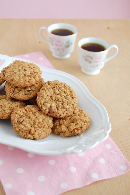 President Clinton's oatmeal cookies / Cookies de aveia do Presidente Clinton
