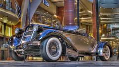 1936 Auburn Speedster on the Royal Promenade - Deck 5 - Oasis of the Seas.jpg (Bob's Corner) Tags: cruise 1936 replica royalcaribbean auburnspeedster oasisoftheseas