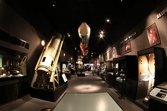 Space Display @ Liverpool's World Museum - fisheye (tofu_catgirl) Tags: uk england museum liverpool space fisheye tokina shuttle planets planetarium 1017mm