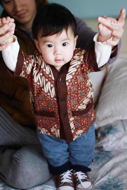 Baby Marcus in Batik
