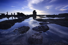 Sunset at Melasti Beach (januartha) Tags: sunset bali seascape beach water rock indonesia tanahlot coasta tabanan melastibeach