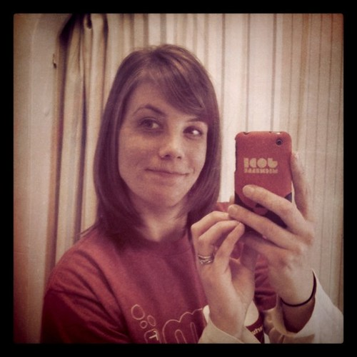 I went with bangs :) first haircut in about 9 months!