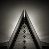 Temple: Study IV (Jeff Gaydash) Tags: longexposure blackandwhite abstract architecture square temple detroit symmetry nd110