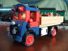 50's Tipper Truck (wunztwice) Tags: truck tipper lego railway lorry delivery 50s legotruck tippertruck tipperlorry 1950struck 50struck legolorry 50slorry lego1950struck