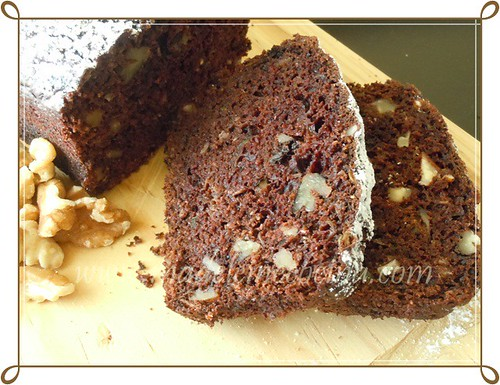 Pan de chocolate y calabacita
