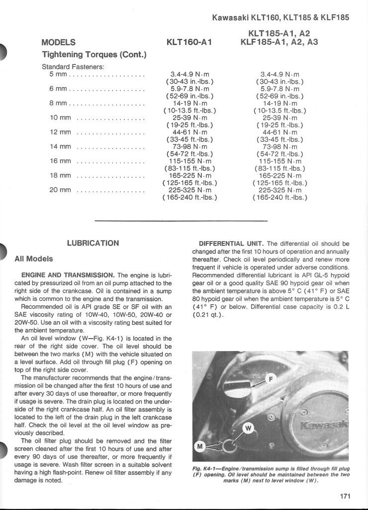 Klf185 Manual