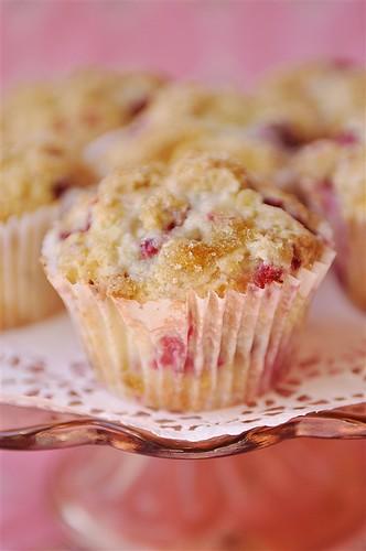 Raspberry Dream Muffins