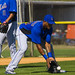 Jordany Valdespin fields the grounder