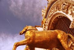 Cathedral Detail in St Mark's Square (Lu Bodaczny ) Tags: venice veneza venecia venezia lubodaczny