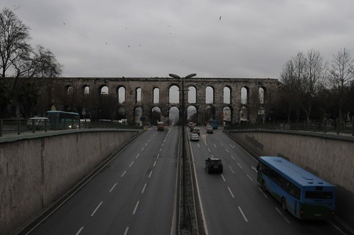 Another view of the Valens Aqueduct