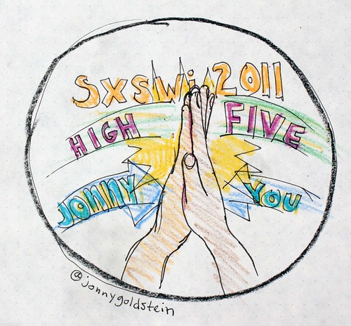 SXSWi 2011: High Five: Jonny and You