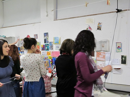 MA Arts Mailart workshop March 1 2011 (7)