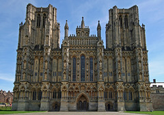 Wells Cathedral West Front IV (Paul 'Tuna' Turner) Tags: city uk greatbritain travel vacation england holiday tower heritage history church architecture worship europe cathedral unitedkingdom britain religion culture conservation eu wells somerset wellscathedral historical christianity europeanunion englishhistory cultural preservation cathedralcity britishhistory thesouthwest medievalarchitecture britishculture medievalchurch southwestengland englishculture medievalcathedral cathedralchurchofstandrewinwells