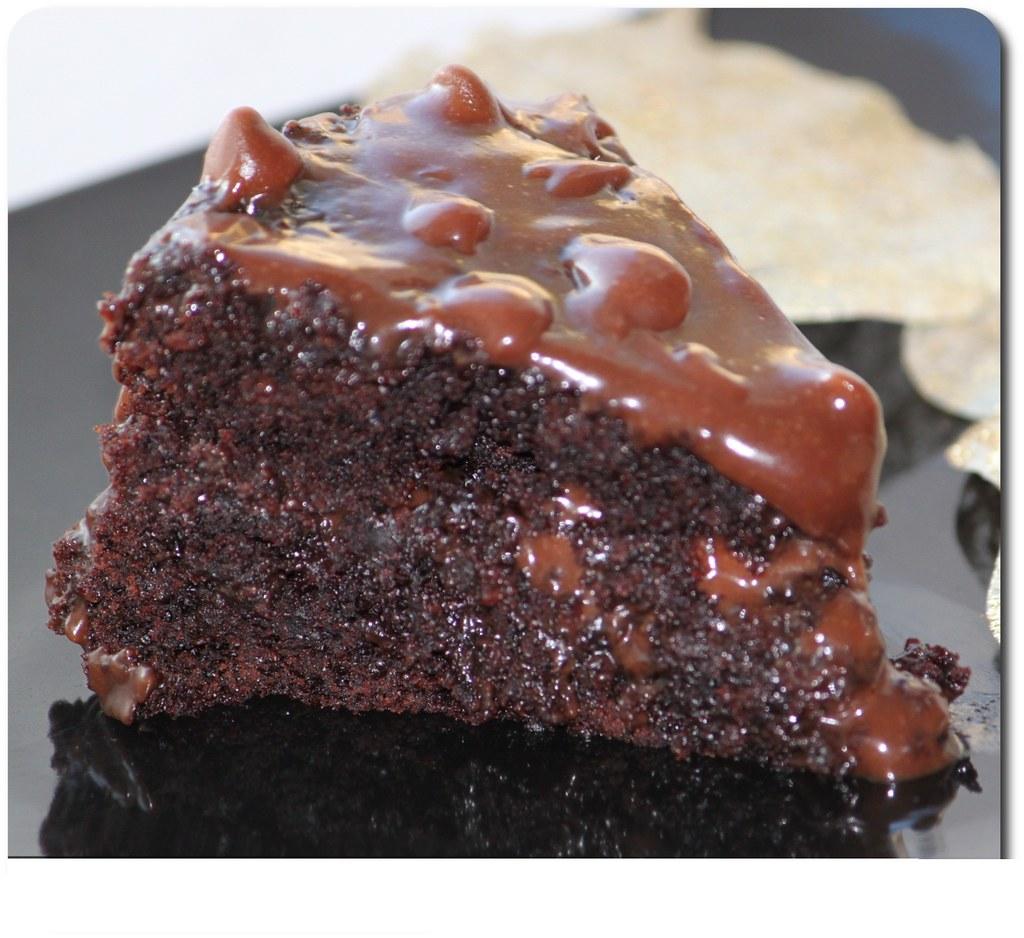 Eggless Chocolate indulgence cake