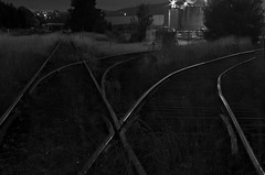 Fyshwick at night (photo obsessed) Tags: night rail railway australia land canberra act oceania australiancapitalterritory fyshwick transportandassociatedobjects
