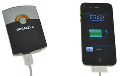 Duracell 2-In-1 USB Charger and Apple iPhone 4