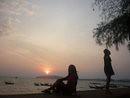 Thailand, sun set, krabi