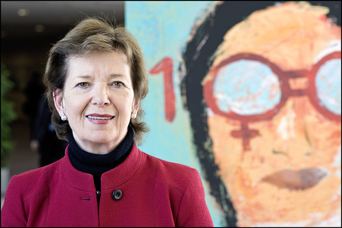 """Mary Robinson: """"Encourage European countries to get excited about the transformative impact that women can have"""""""