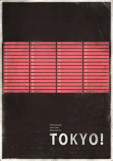 Tokyo! minimalist poster 3