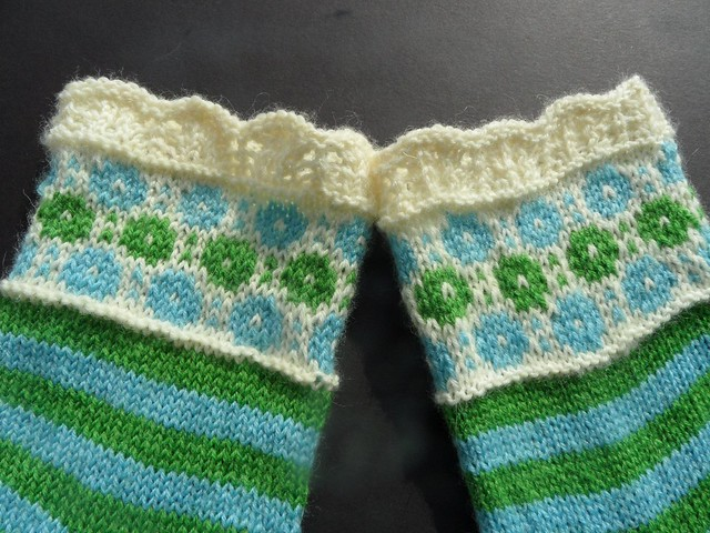 Winter Garden socks-2