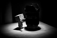 The forsaken (Mad_m4tty) Tags: bw abandoned lens mono alone equipment abandon forsaken sal danbo 18250 danboard sal18250