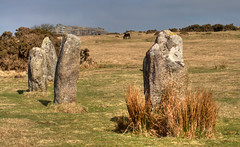 The Hurlers (rosyrosie2009) Tags: uk england landscape photography countryside nikon flickr cornwall photos moors ponies hdr westcountry bodminmoor minions photomatix hurlers tonemapped stoweshill devonandcornwall d5000 rosiesphotos tamronaf70300mmf456dildmacro tamron70300mmlens nikond5000 rosiespooner rosyrosie2009 rosemaryspooner rosiespoonerphotography