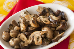 Marinated Mixed Mushrooms (Recipe Testing)