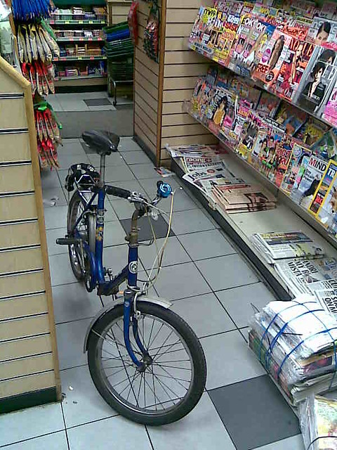 jake's bike in superway