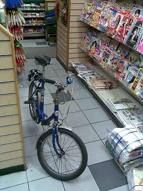 jake's bike in superway